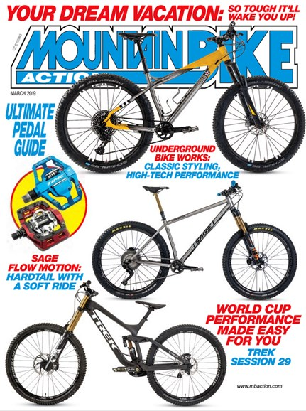 Mountain Bike Action Cover - 3/1/2019