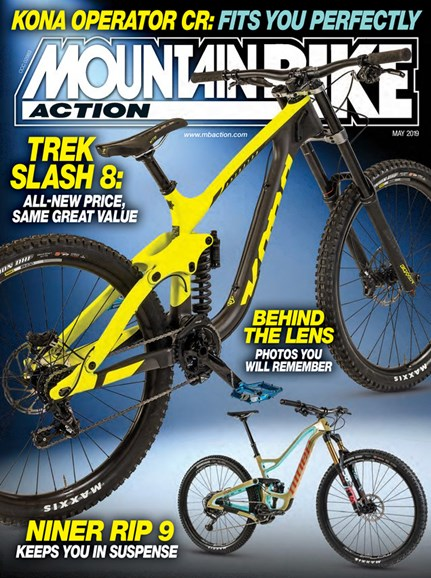 Mountain Bike Action Cover - 5/1/2019