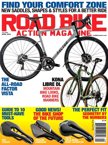 Road Bike Action Cover - 4/1/2019