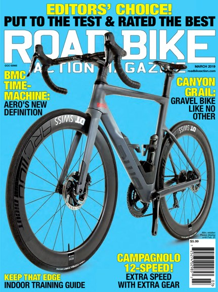 Road Bike Action Cover - 3/1/2019