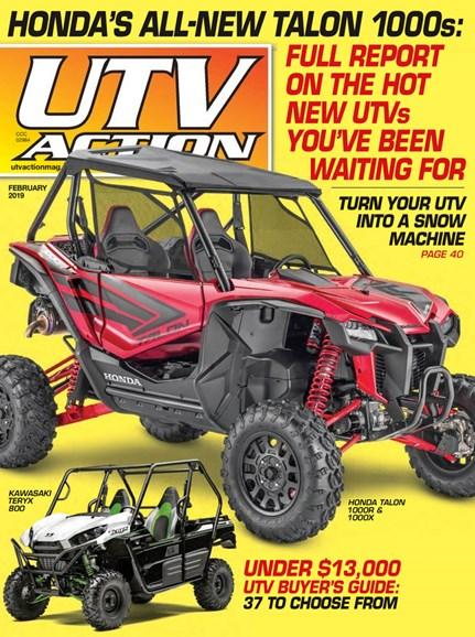 UTV Action Cover - 2/1/2019
