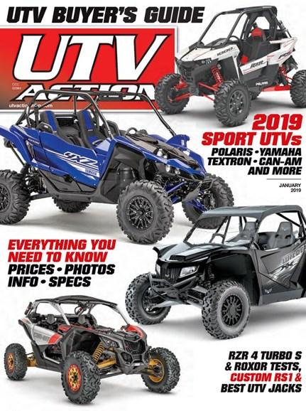UTV Action Cover - 1/1/2019