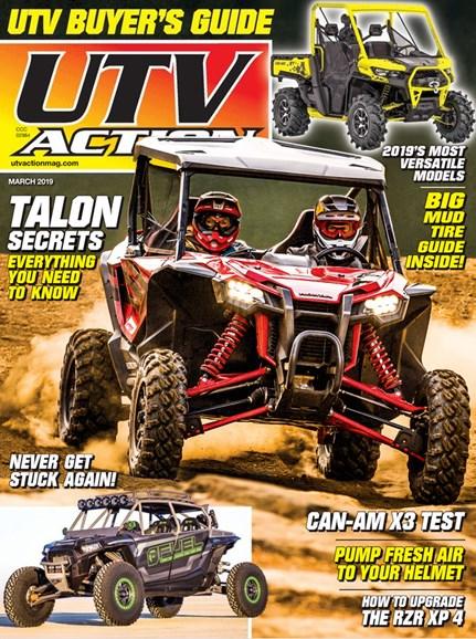 UTV Action Cover - 3/1/2019