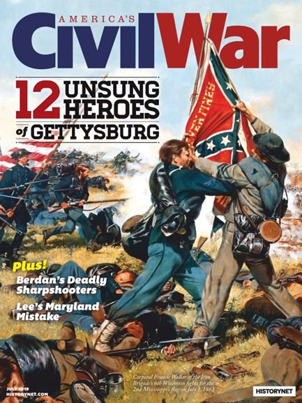 America's Civil War Cover - 7/1/2019
