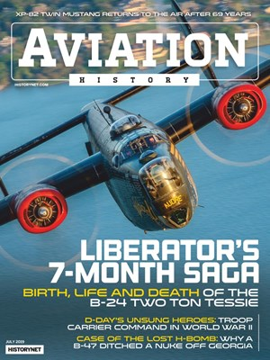 Aviation History Magazine | 7/2019 Cover