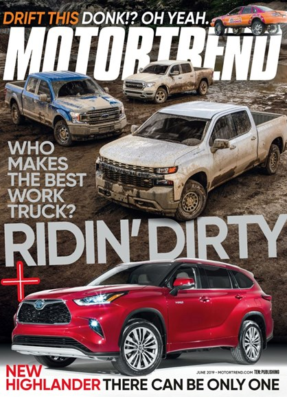 Motor Trend Cover - 6/1/2019