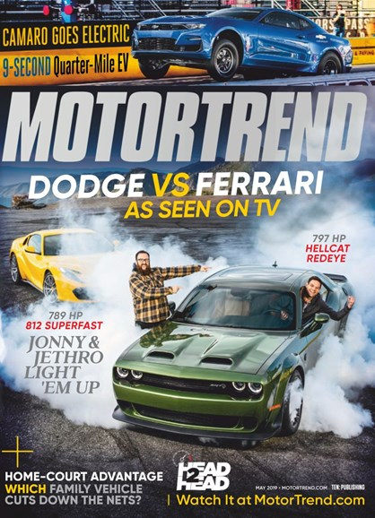 Motor Trend Cover - 5/1/2019