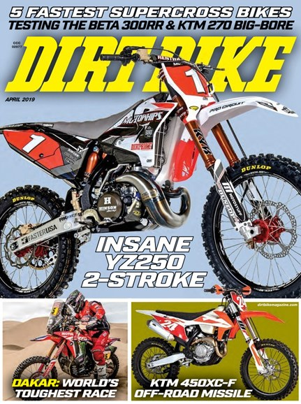 Dirt Bike Cover - 4/1/2019