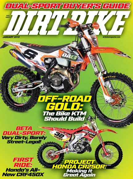 Dirt Bike Cover - 1/1/2019