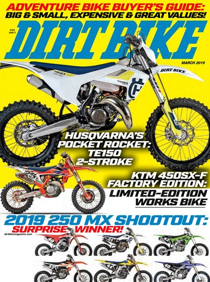 Dirt Bike Cover - 3/1/2019