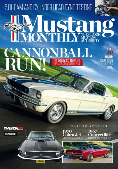 Mustang Monthly Cover - 6/1/2019