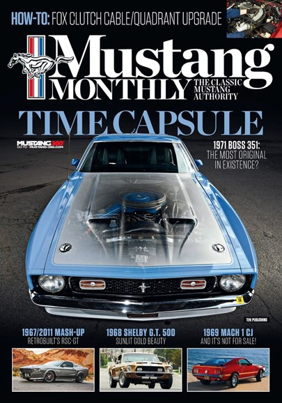 Mustang Monthly Cover - 5/1/2019