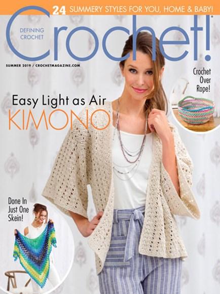 Crochet! Cover - 6/1/2019
