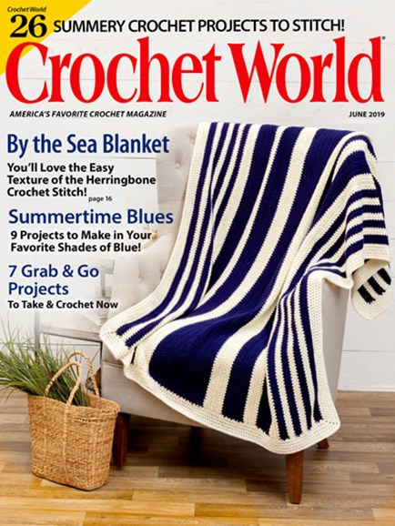 Crochet World Cover - 6/1/2019