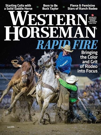 Western Horseman Cover - 6/1/2019