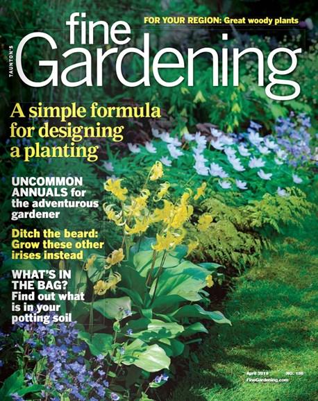 Fine Gardening Cover - 4/1/2019