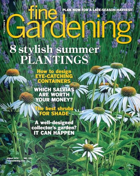 Fine Gardening Cover - 8/1/2019
