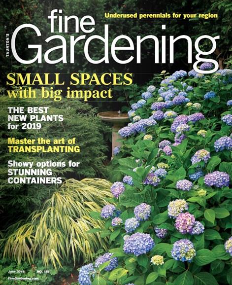 Fine Gardening Cover - 6/1/2019