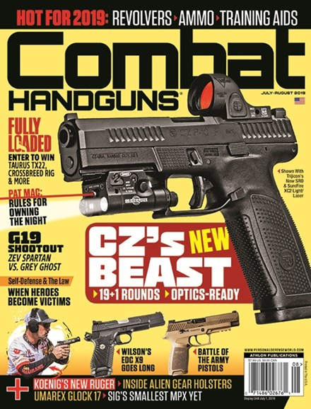Combat Handguns Cover - 7/1/2019