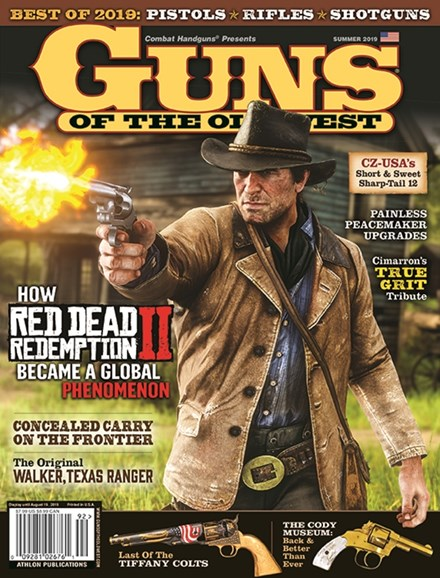 Guns Of The Old West Cover - 6/1/2019