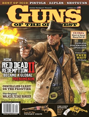 Guns Of The Old West Magazine | 6/2019 Cover