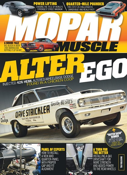 Mopar Muscle Cover - 8/1/2019