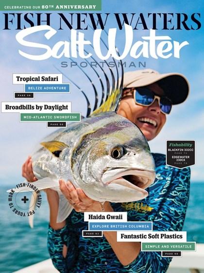 Salt Water Sportsman Magazine   6/2019 Cover