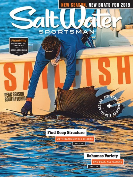 Salt Water Sportsman Cover - 5/1/2019