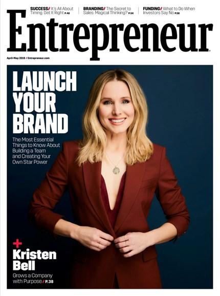 Entrepreneur Cover - 4/1/2019