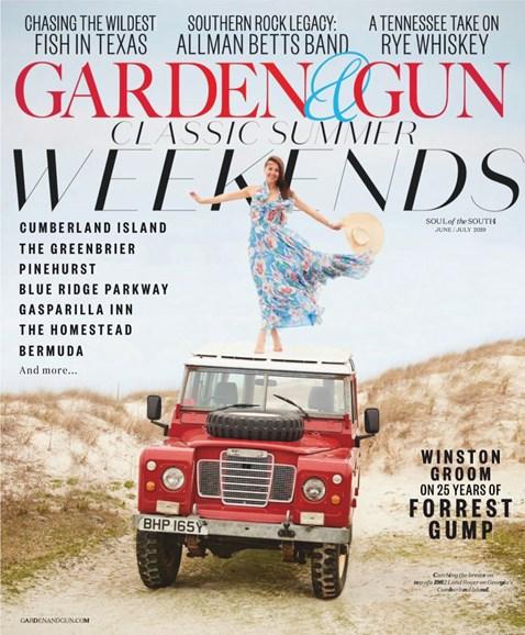Garden & Gun Cover - 6/1/2019
