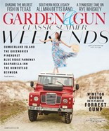 Garden & Gun   6/2019 Cover
