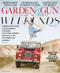 Garden & Gun Magazine   6/2019 Cover