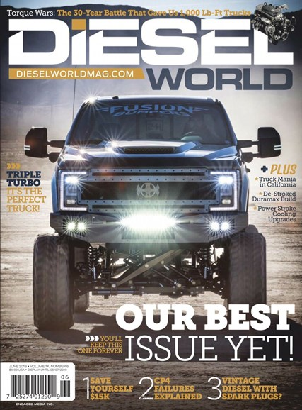 Diesel World Cover - 6/1/2019