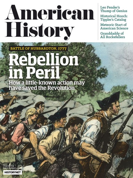 American History Cover - 8/1/2019