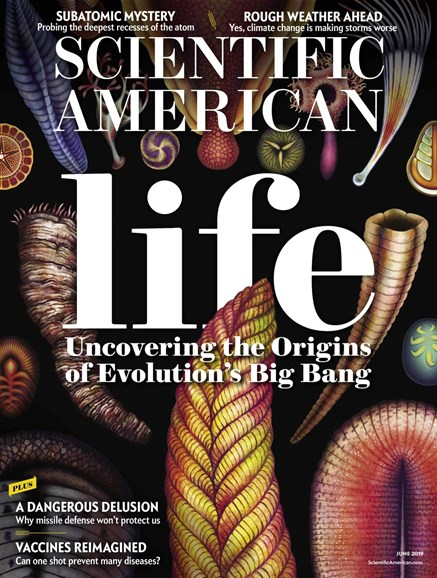 Scientific American Cover - 6/1/2019