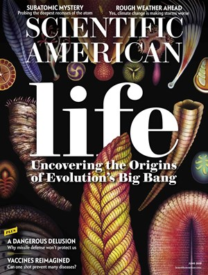 Scientific American Magazine | 6/2019 Cover