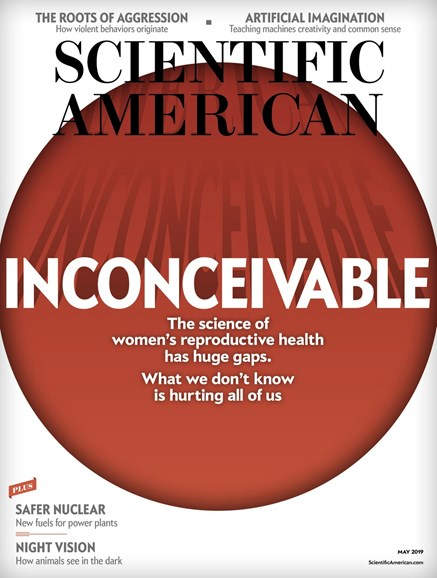 Scientific American Cover - 5/1/2019