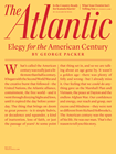 Atlantic Magazine | 5/1/2019 Cover