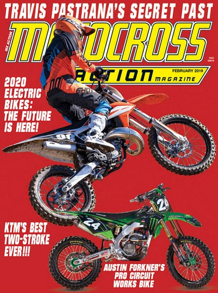 Motocross Action Cover - 2/1/2019