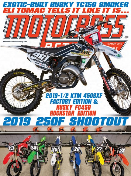 Motocross Action Cover - 3/1/2019