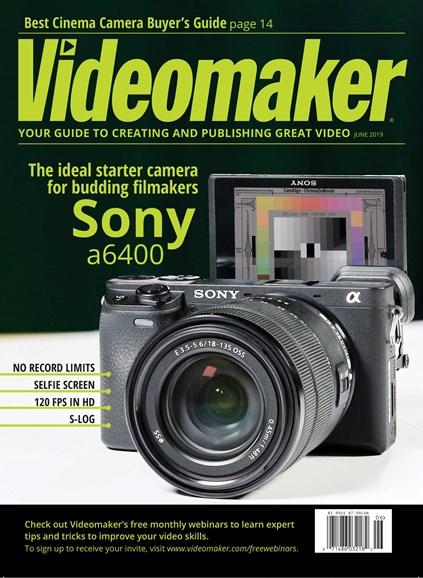 Videomaker Cover - 6/1/2019