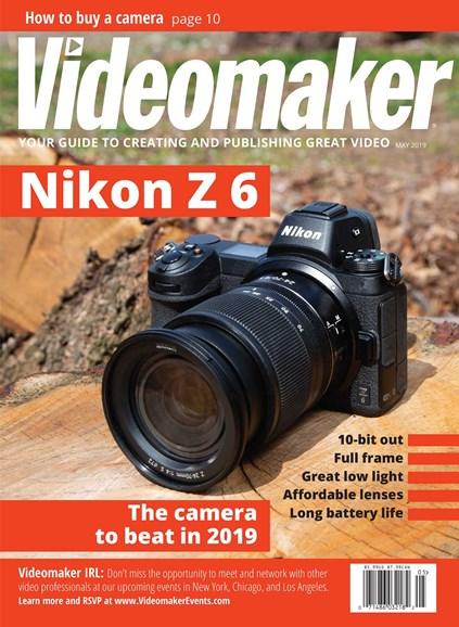Videomaker Cover - 5/1/2019