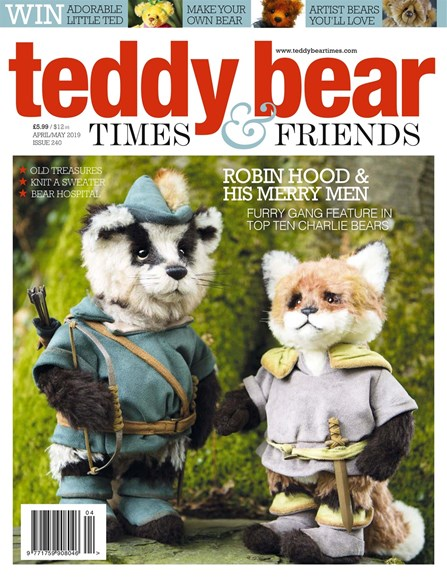 Teddy Bear Times & Friends Cover - 4/1/2019