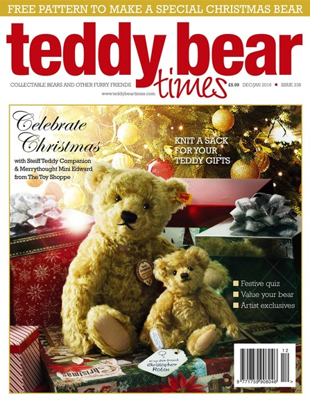 Teddy Bear Times & Friends Cover - 12/1/2018