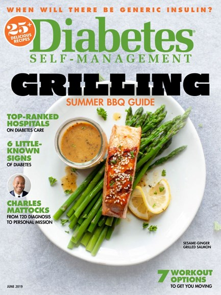 Diabetes Self-Management Cover - 5/1/2019