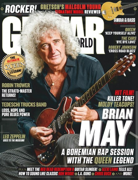 Guitar World Cover - 6/1/2019