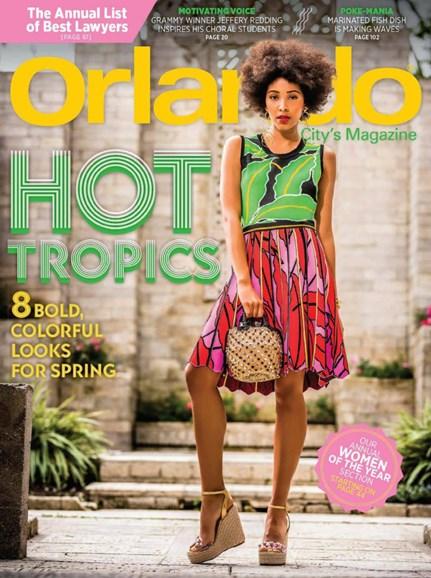 Orlando Magazine Cover - 4/1/2019
