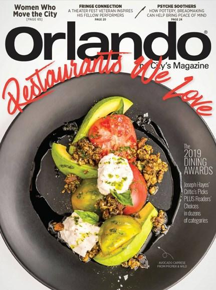 Orlando Magazine Cover - 5/1/2019
