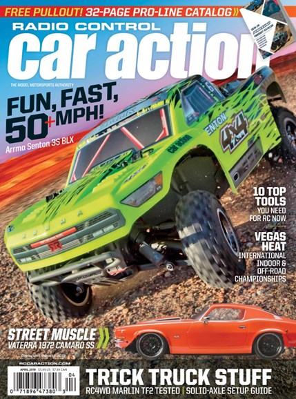 Radio Control Car Action Cover - 4/1/2019