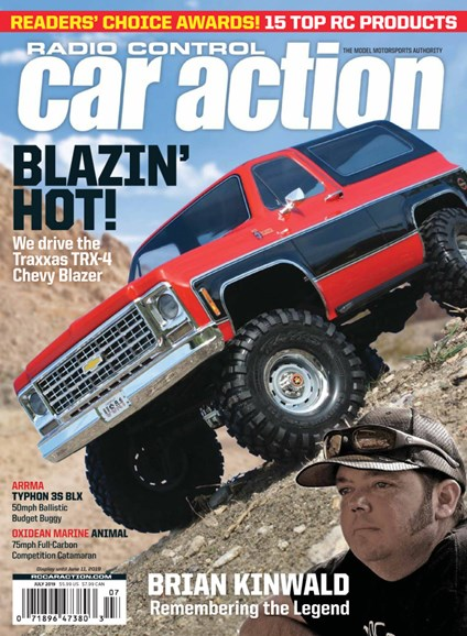 Radio Control Car Action Cover - 7/1/2019
